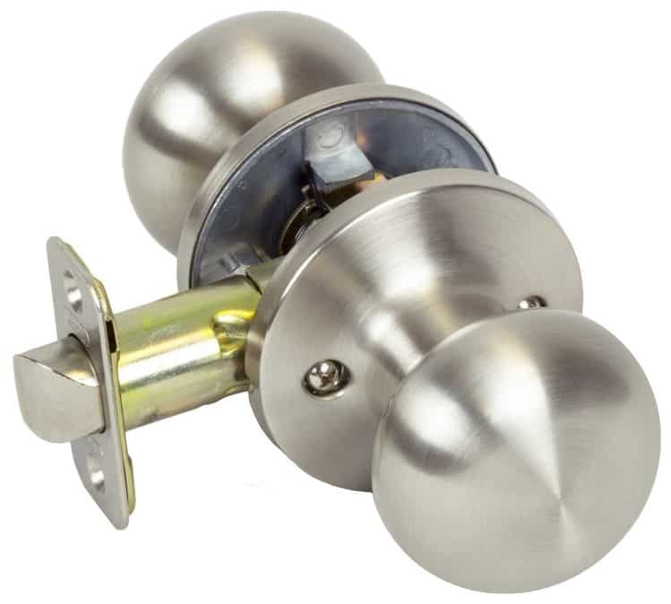 Passage doorknob