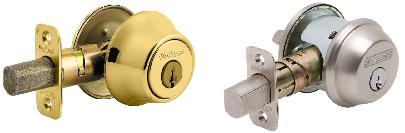 Kwikset and Schlage Deadbolts
