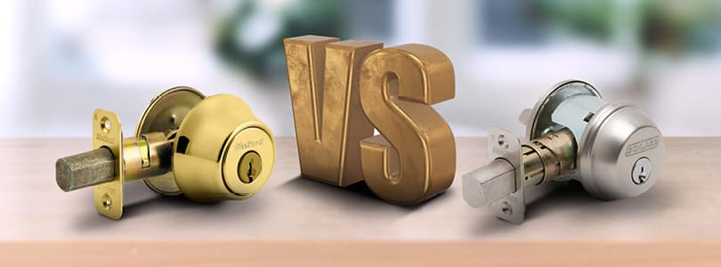 Schlage Vs Kwikset 4 Houses A Minute The Home Security